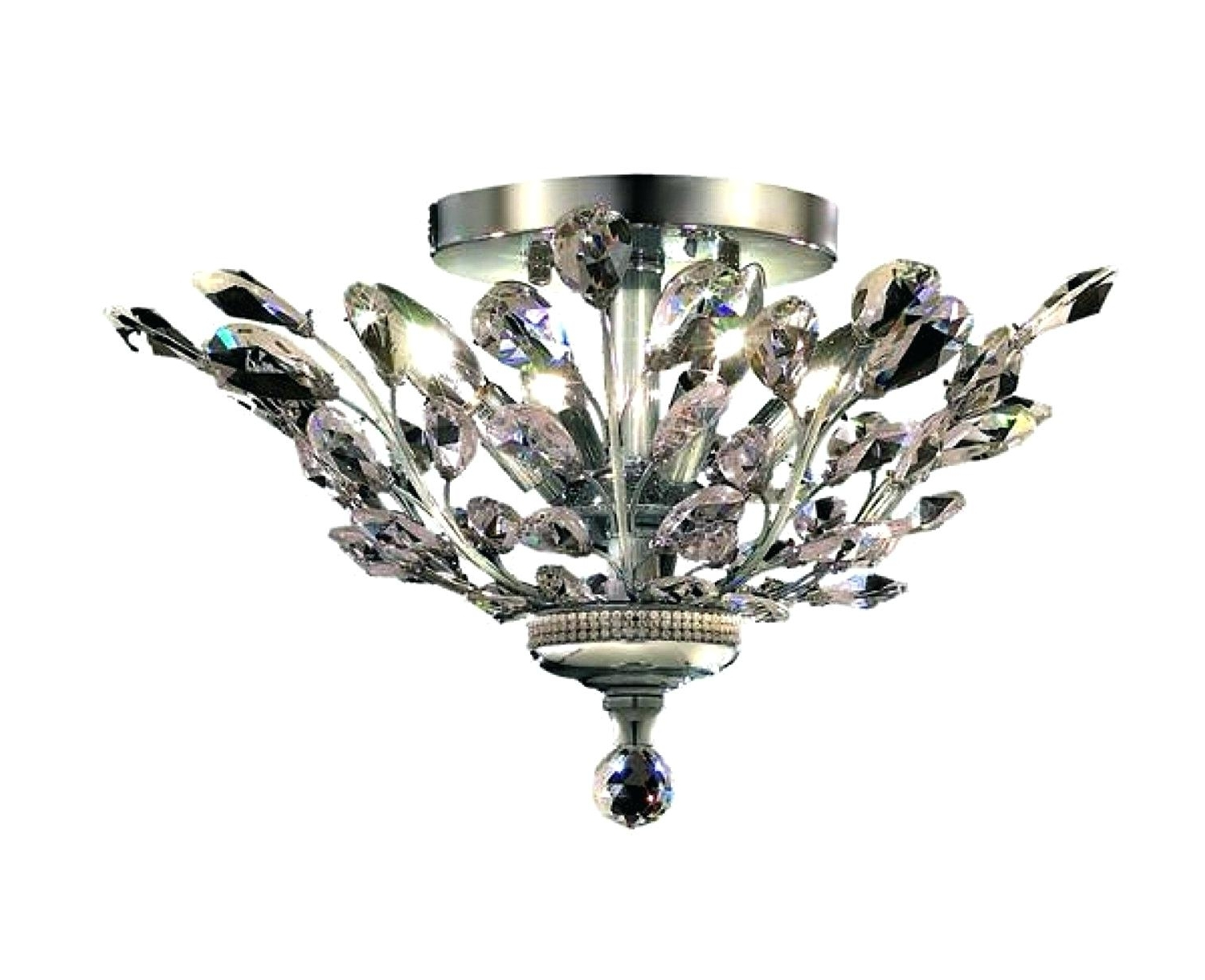 Most Popular Flush Fitting Chandelier For Bathroom Ceiling Lights Flush Fitting Chandelier Hanging Light (View 14 of 20)