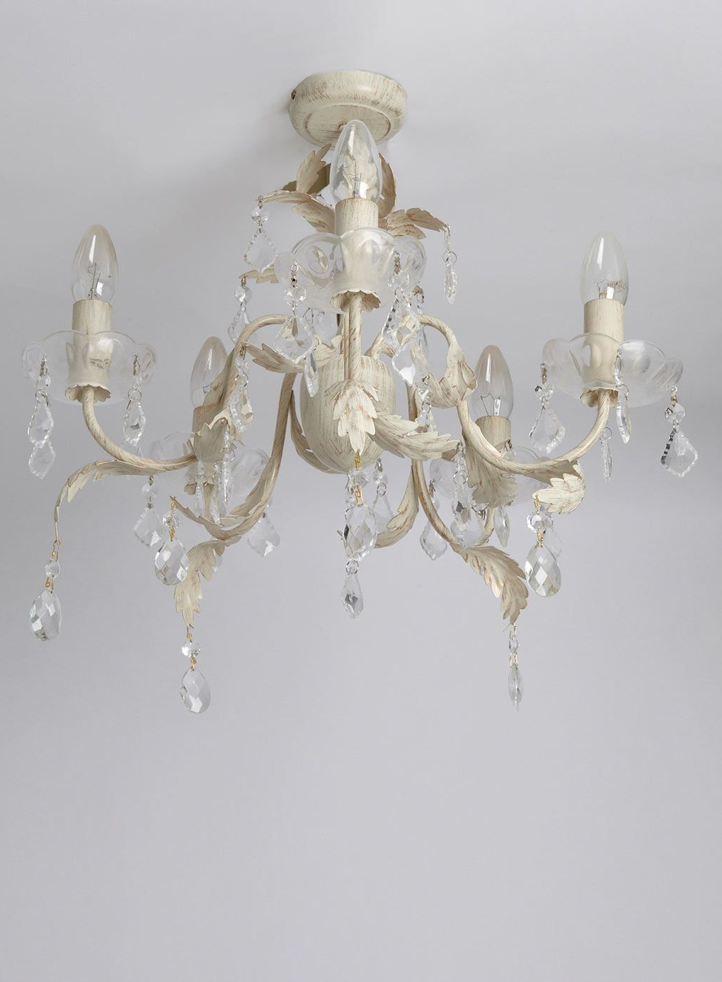 Most Popular Flush Fitting Chandeliers With Juliette 5 Light Flush Fitting Chandelier – Ceiling Lights – Home (View 13 of 20)
