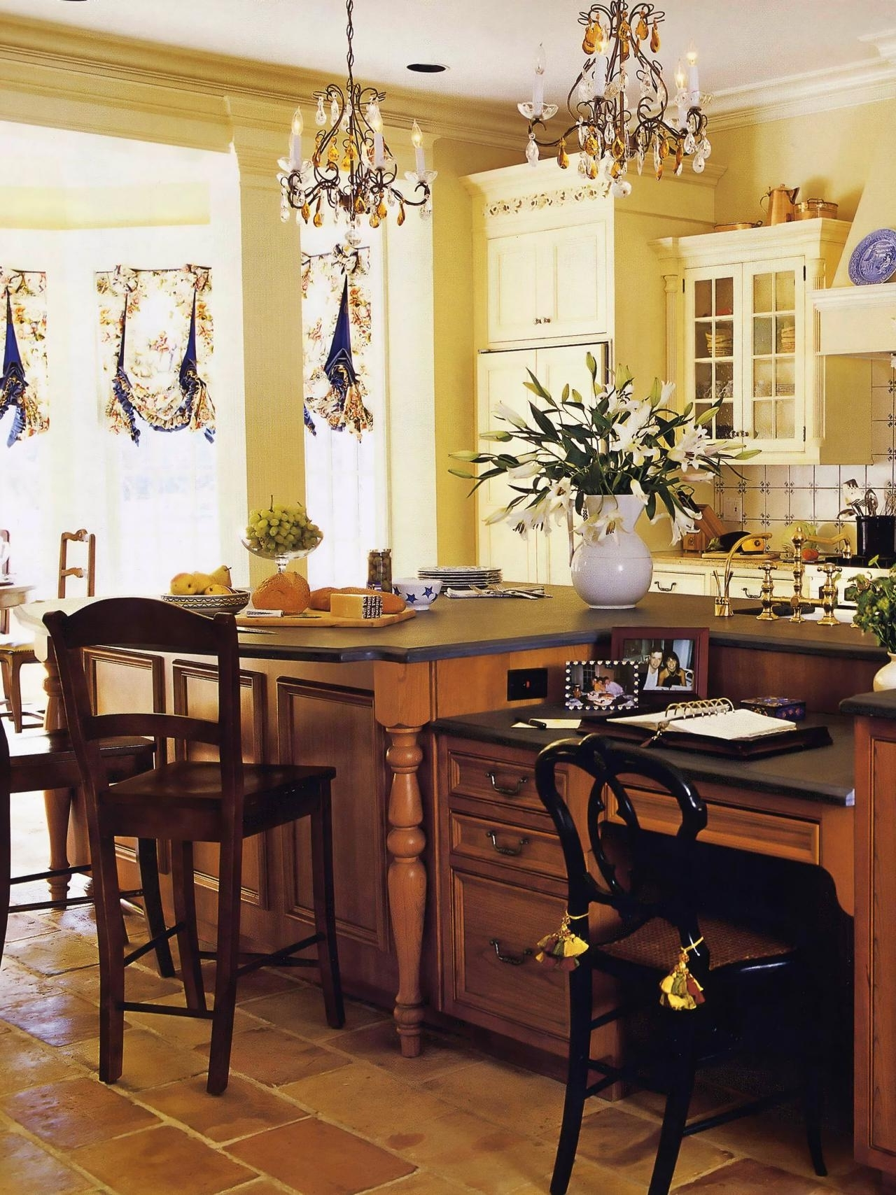 Most Popular French Country Chandeliers For Kitchen Regarding Kitchen : Drum Pendant Chandelier Customize Kitchen Lighting With (View 15 of 20)