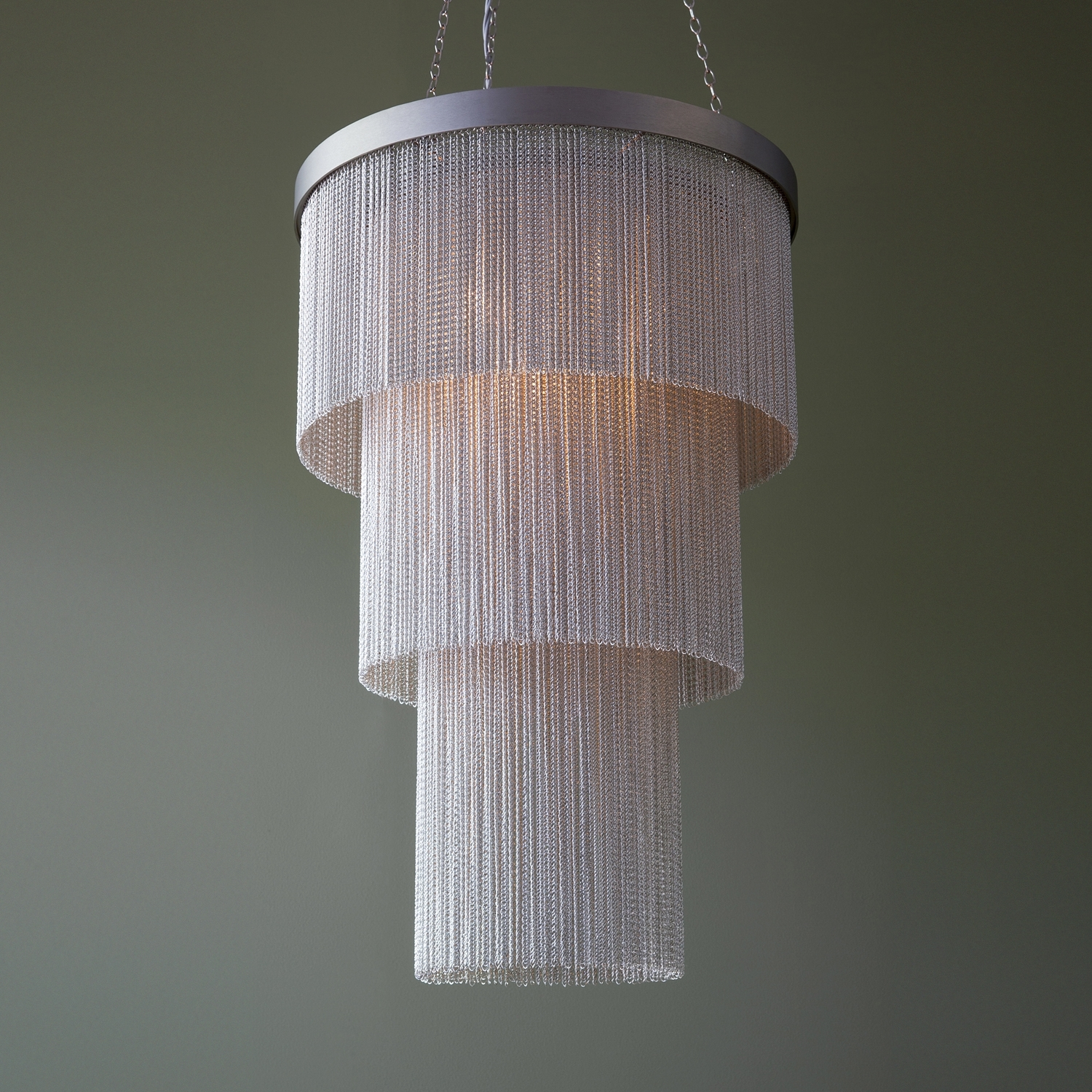 Most Popular Long Chandelier With Silver Chain Long Chandelier – Tigermoth Lighting (View 14 of 20)