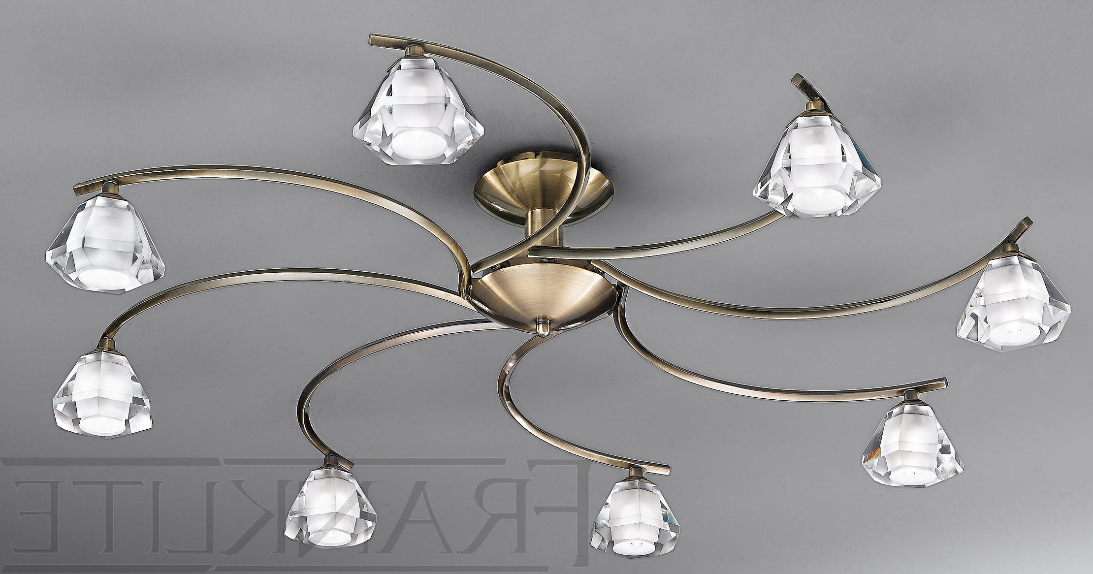 Most Popular Low Ceiling Chandeliers Within Lighting For Low Ceilings, Dramatic Lighting For Low Ceilings Design (View 13 of 20)