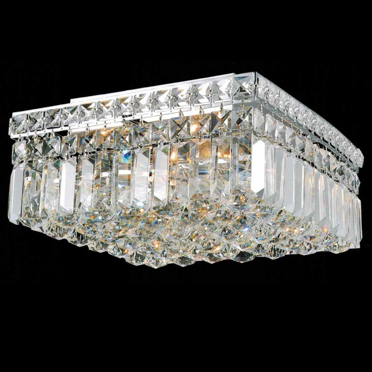 Most Recent 4 Light Crystal Chandeliers Intended For Brizzo Lighting Stores (View 10 of 20)