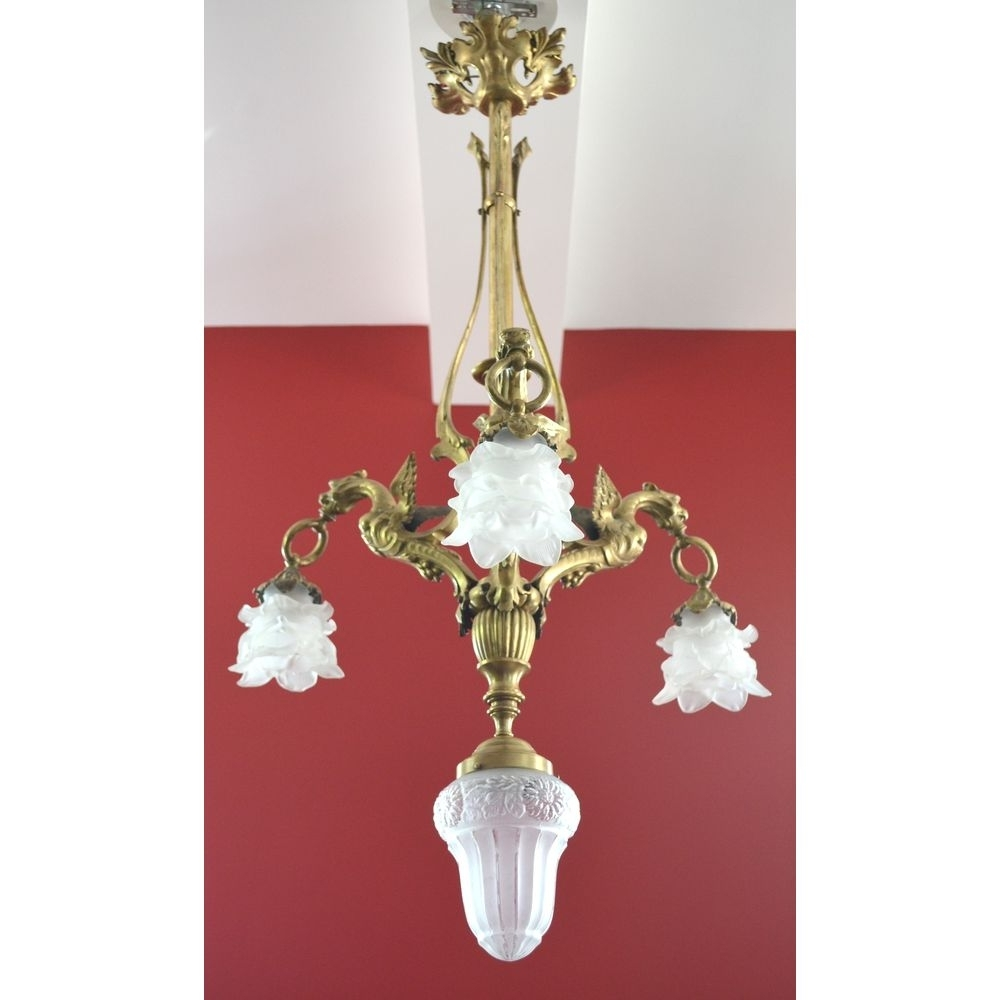 Most Recent Antique French Chandeliers Intended For Antique French Chandelier (View 11 of 20)