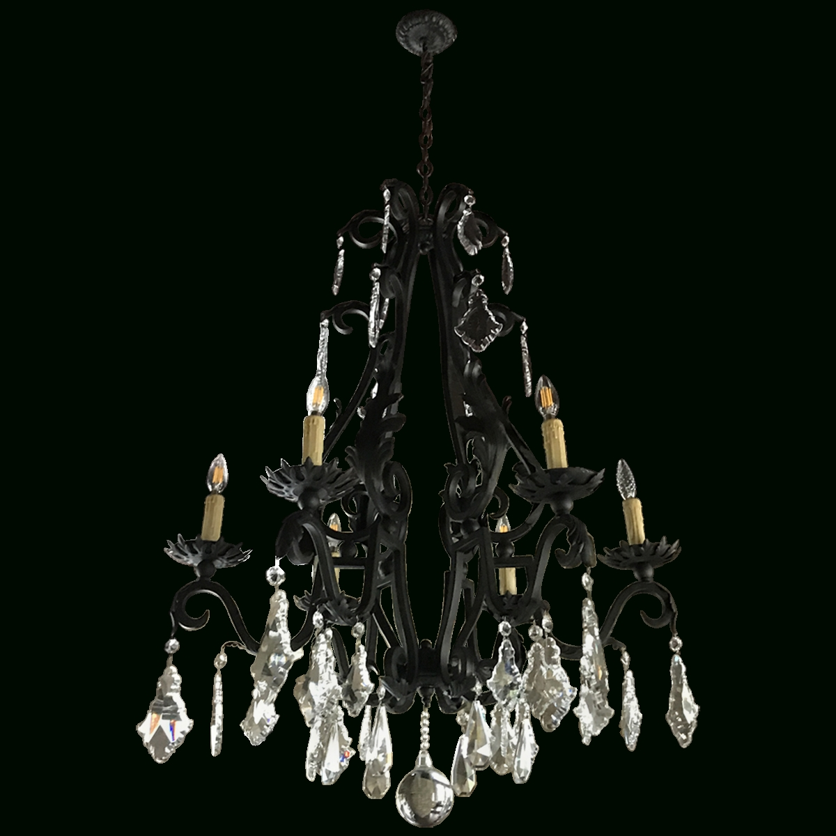 Most Recent Baroque Chandelier Inside Viyet Designer Furniture Lighting Traditional Spanish