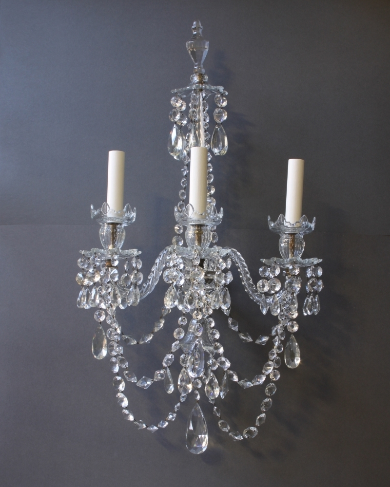 Most Recent Bathroom Chandelier Wall Lights Intended For Wall Sconce With Matching Chandelier • Wall Sconces (View 4 of 20)