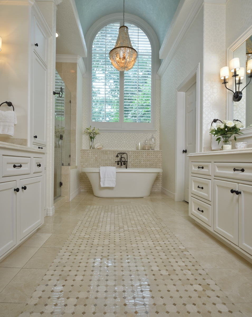 Most Recent Chandeliers For Bathrooms With Regard To Before & After (View 13 of 20)