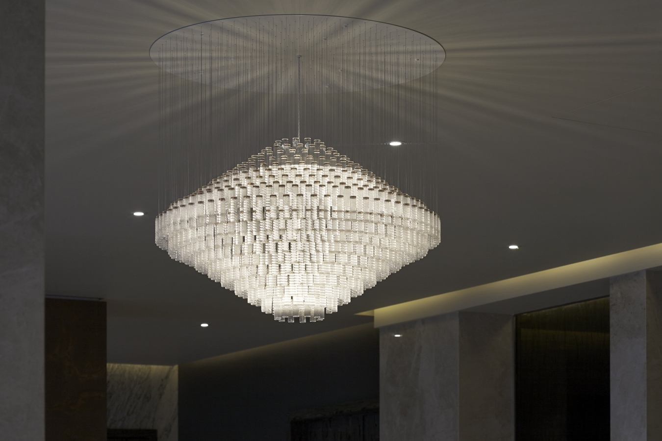 Most Recent Contemporary Chandeliers With Lighting : Modern Chandeliers Brushed Nickel Contemporary Chandelier (View 19 of 20)