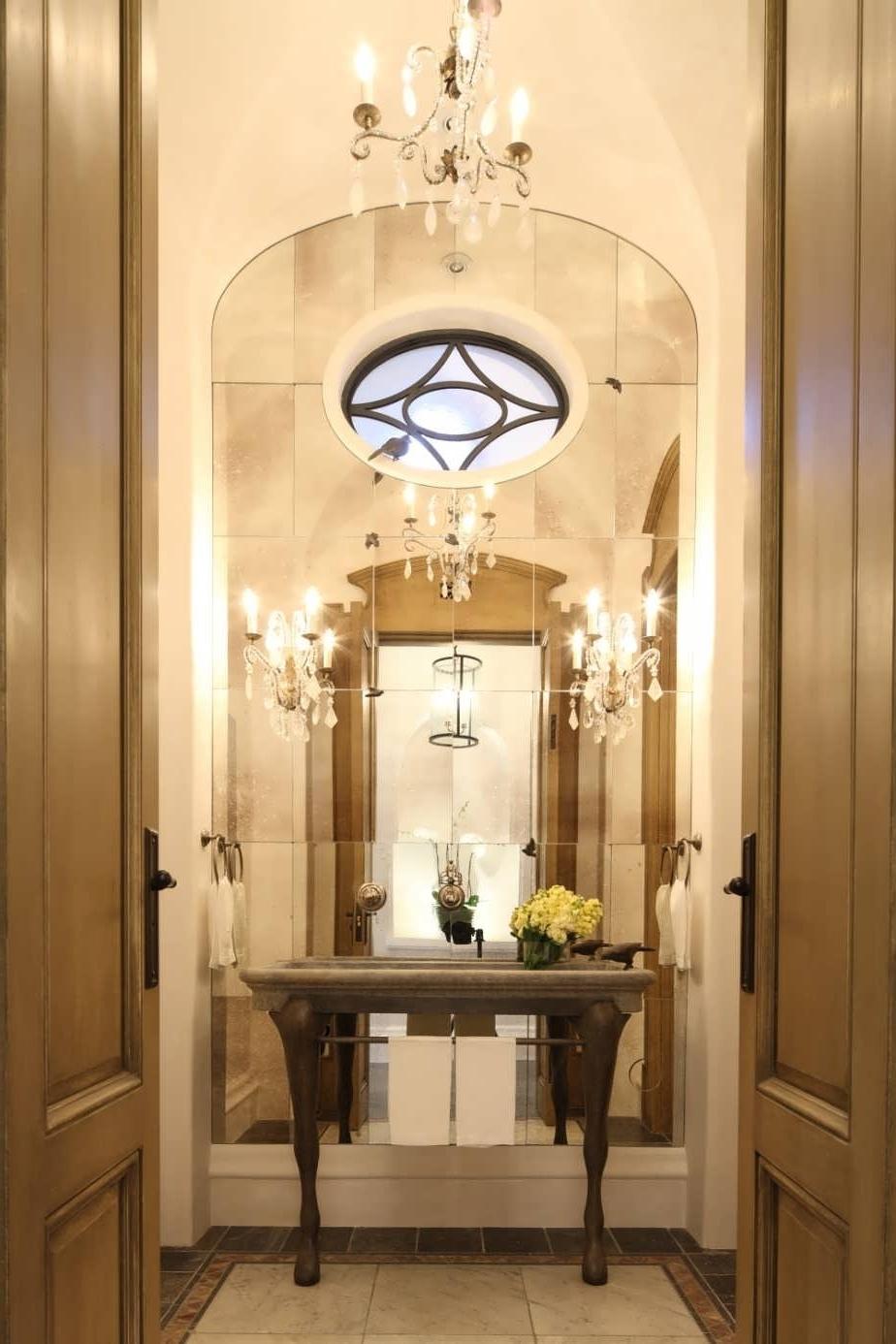 Most Recent Crystal Chandelier Bathroom Lighting With Regard To Chandeliers Design : Marvelous Dinning Bathroom Chandeliers Crystal (View 16 of 20)