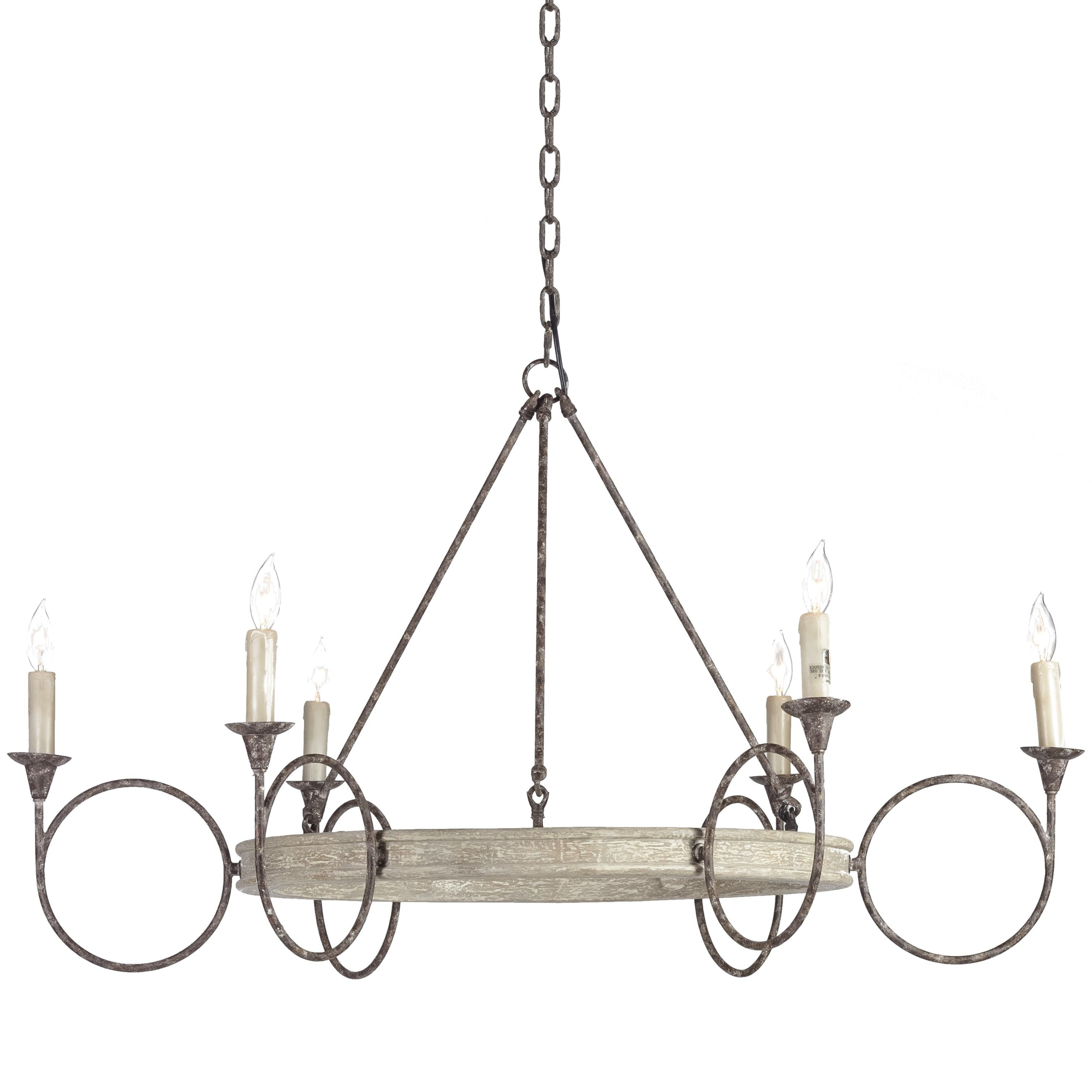 Most Recent Gabby Chandelier Inside This Large Circle Candle Chandelier Offers A Transitional Silhouette (View 9 of 20)