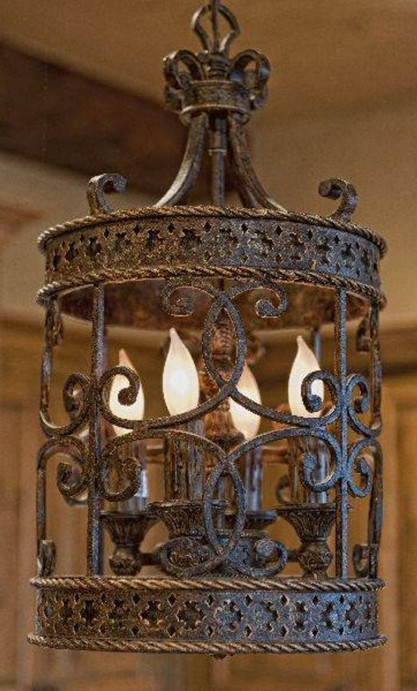 Most Recent Large Iron Chandelier Pertaining To Chandelier: Astonishing Cast Iron Chandelier Large Wrought Iron (View 15 of 20)