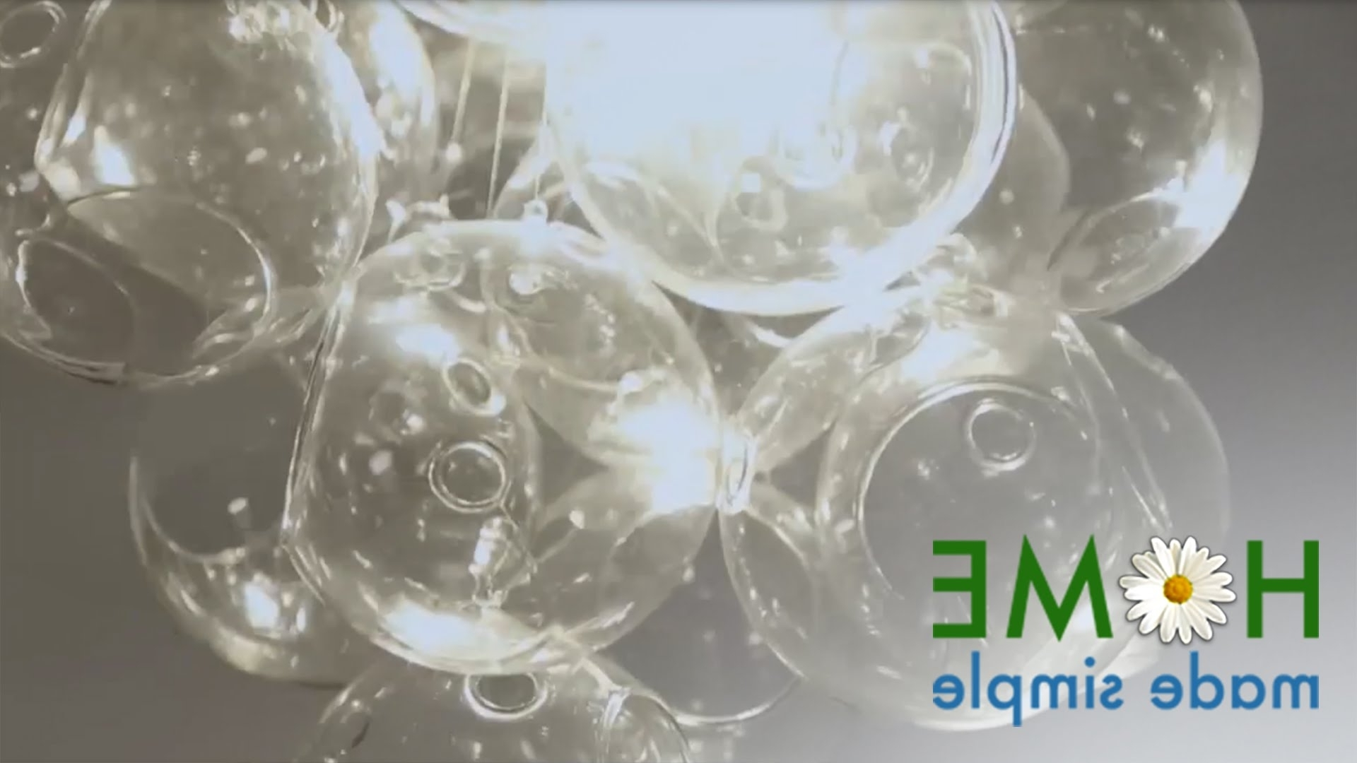 Most Recent Simple Glass Chandelier Inside How To Make This Bubble Chandelier With Glass Orbs (View 7 of 20)