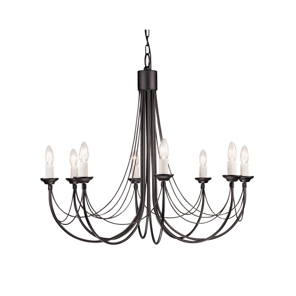 Most Recently Released Black Gothic Chandelier For Gothic Styled Chandelier In 5 Sizes (View 15 of 20)