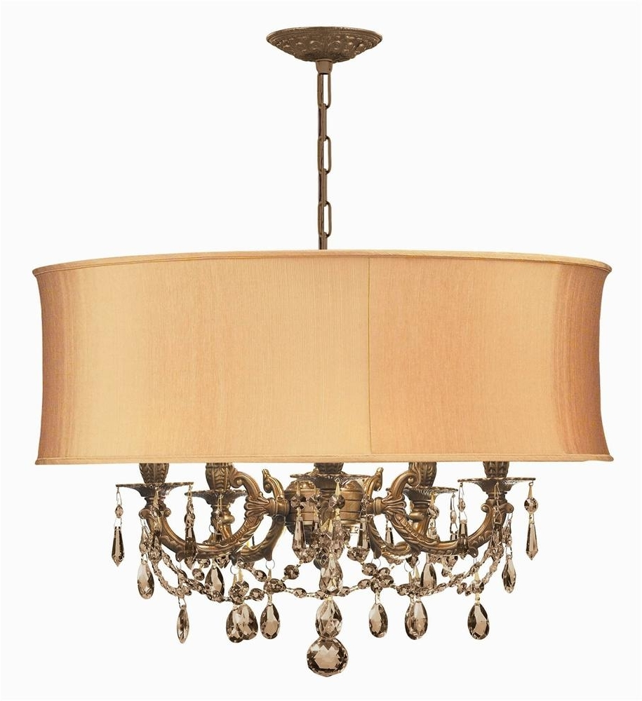 Most Recently Released Buy Ornate Casted Pewter Chandelier W Clear Crystal In Ornate Chandeliers (View 5 of 20)