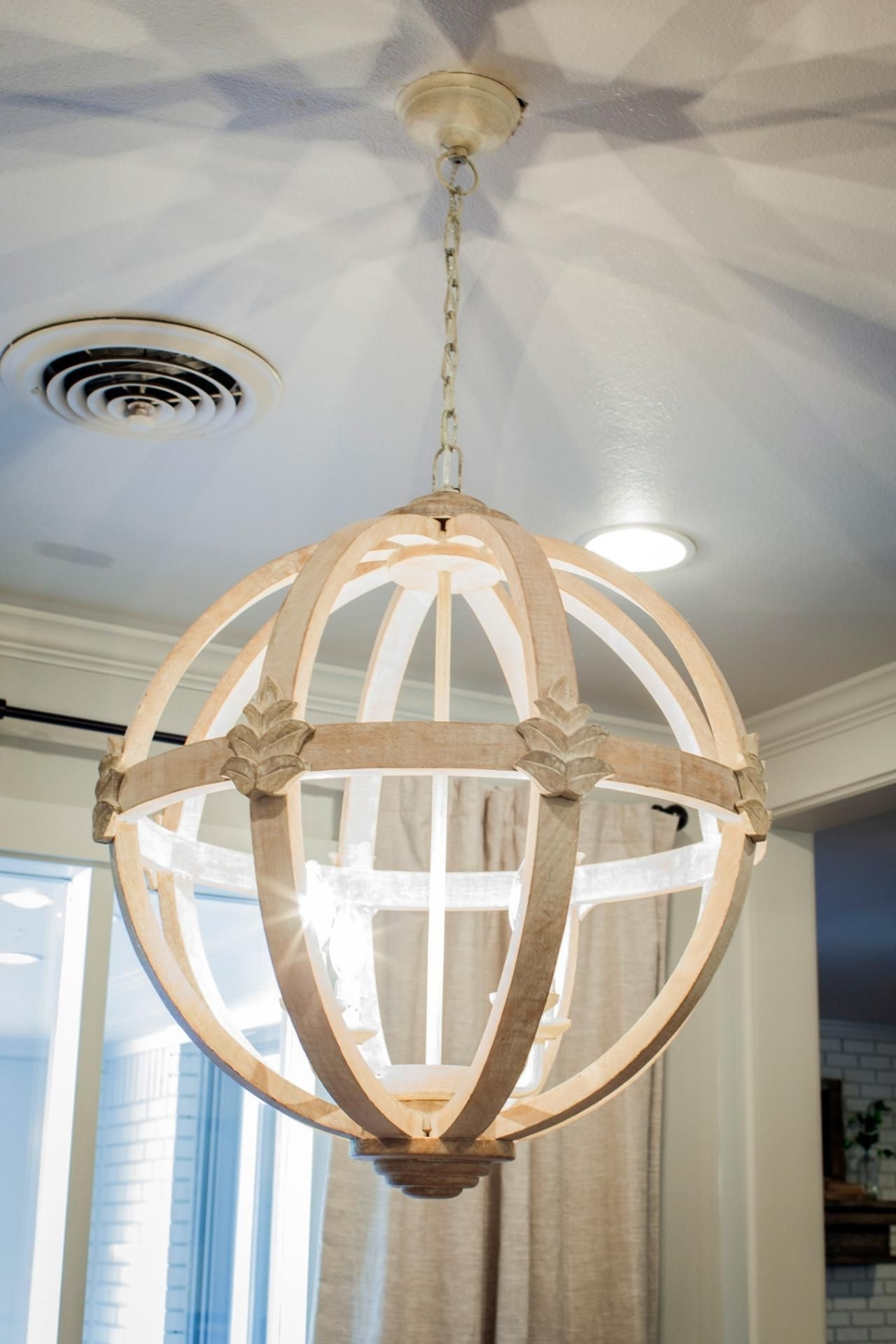 Most Recently Released French Wooden Chandelier With Regard To 11 Ways To Get The Fixer Upper Look In Your Home – Page 4 Of  (View 15 of 20)