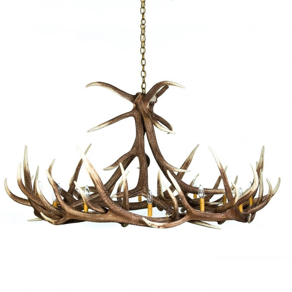Most Recently Released Large Antler Chandelier Throughout Chandelier : Antler Sconces Horn Chandelier Rustic Chandeliers Deer (View 12 of 20)