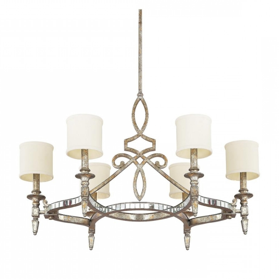 Most Recently Released Mirror Chandelier Intended For Antique Mirror Chandelier (View 15 of 20)