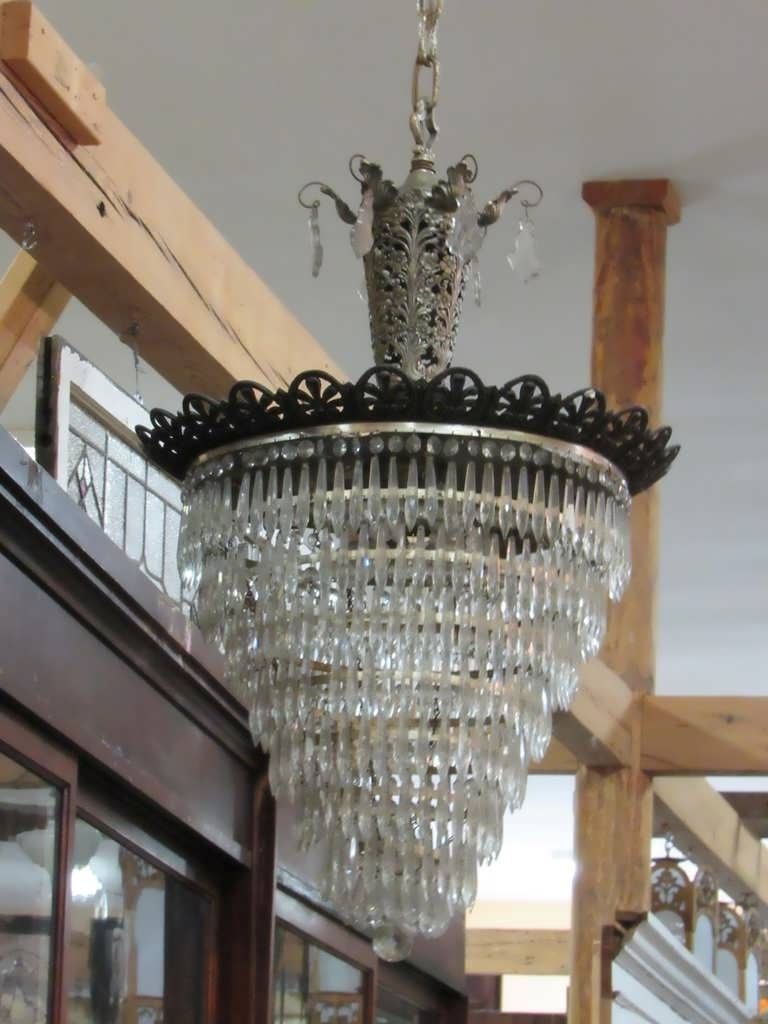 Most Recently Released Modern Antler Chandelier Inside Chandelier : Black Crystal Chandelier Gold Chandelier Nursery (View 12 of 20)