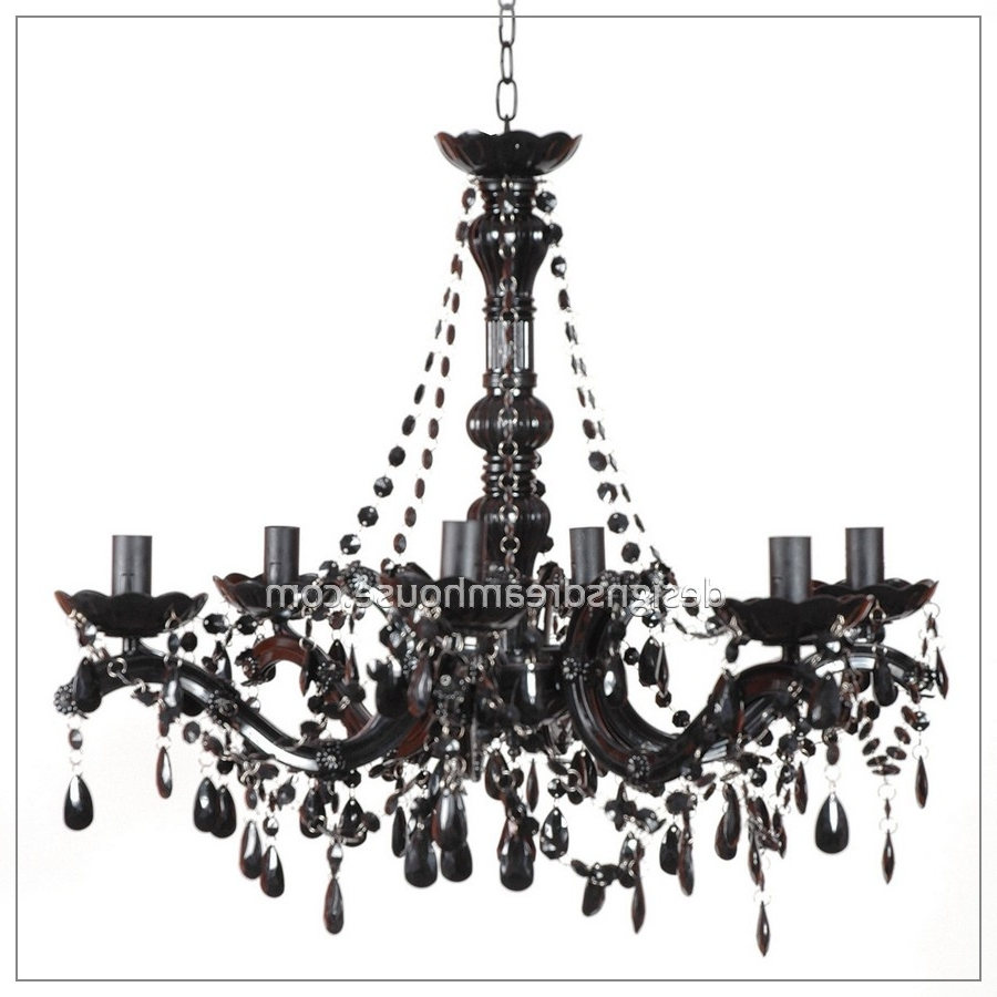 Most Up To Date Black Chandelier Elegant – Closdurocnoir With Black Chandeliers (View 18 of 20)
