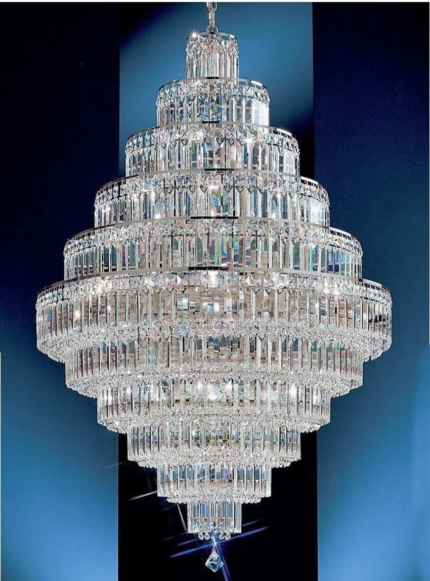 Most Up To Date Chandeliers Design : Amazing Beautiful Large Crystal Chandeliers Inside Huge Crystal Chandeliers (View 15 of 20)