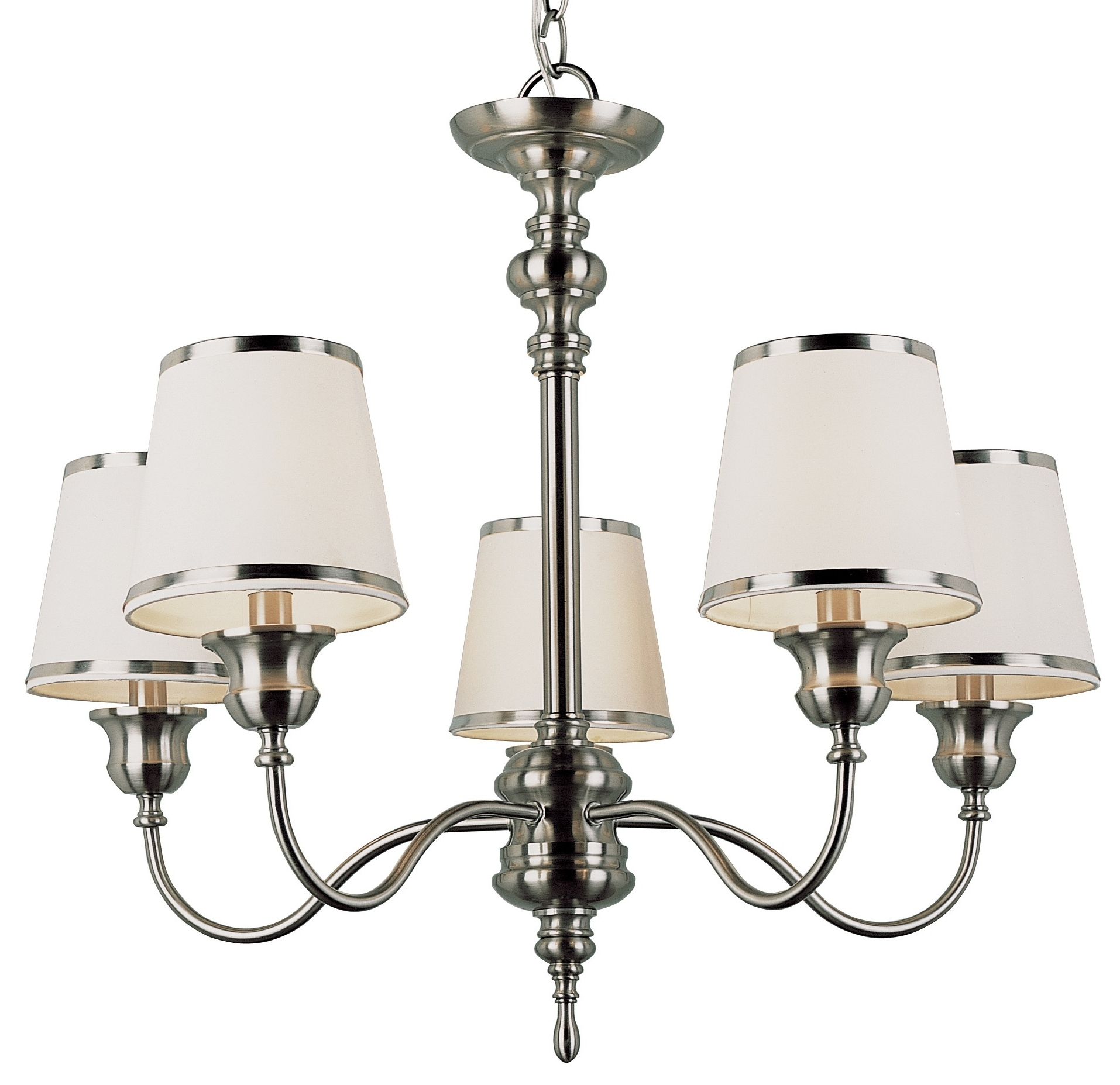 Most Up To Date Chandeliers : Sheer Chandelier Lamp Shades Drum Mini Clip On With Regard To Clip On Chandeliers (View 12 of 20)