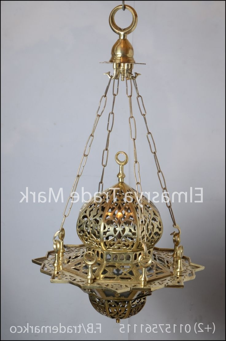 Most Up To Date Egyptian Chandelier Intended For 7 Best Moroccan & Egyptian Brass Chandelier Lighting Images On (View 13 of 20)
