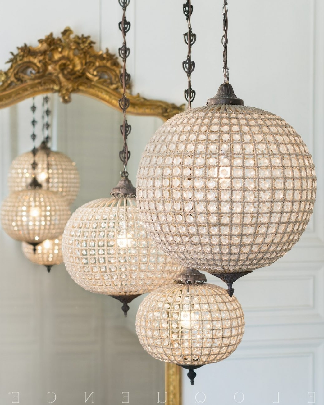 Most Up To Date Eloquence Globe Chandelier Ceiling Fan Home Depot Lamp Shades Clip Inside Eloquence Globe Chandelier (View 15 of 20)