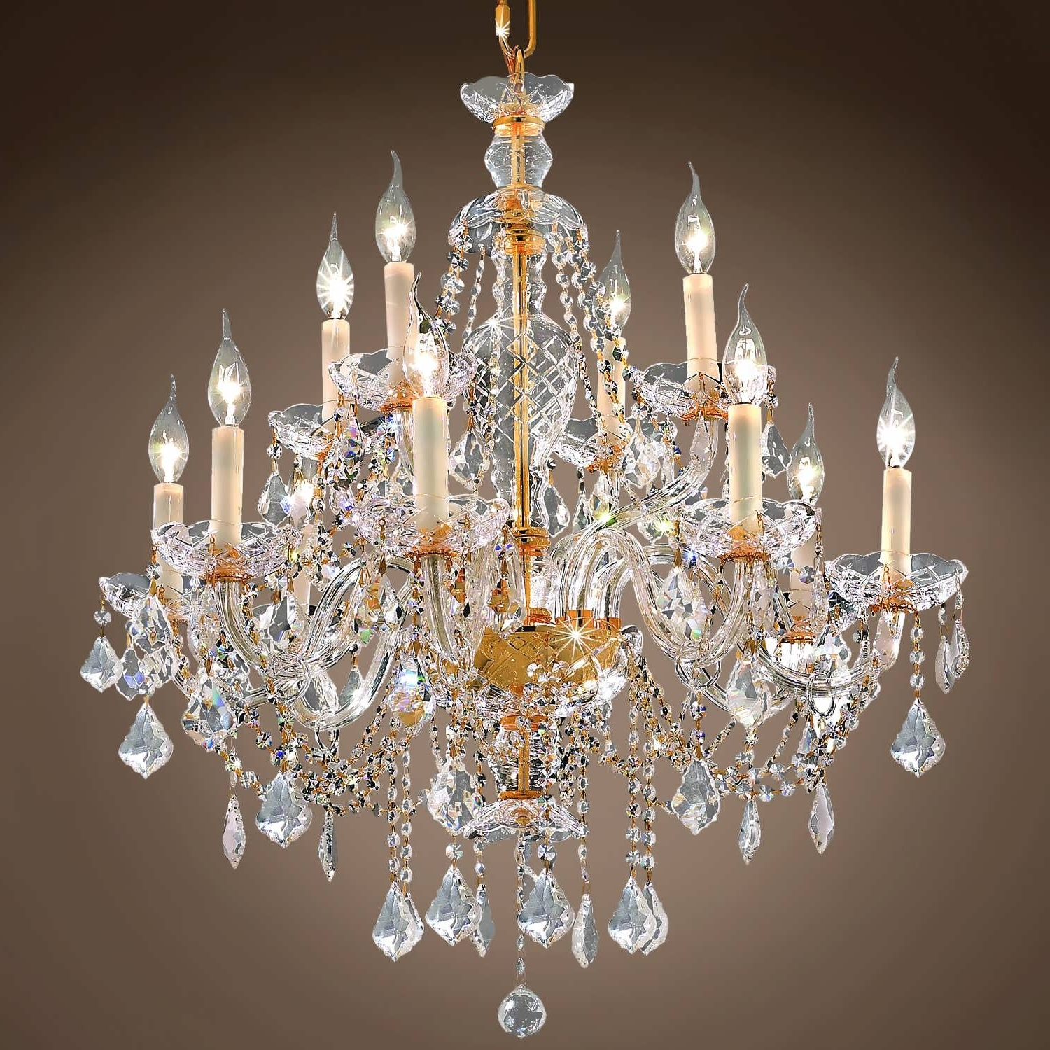 Most Up To Date Florian Crystal Chandeliers Intended For Chandeliers Design : Amazing Florian Crystal Chandelier Restoration (View 11 of 20)