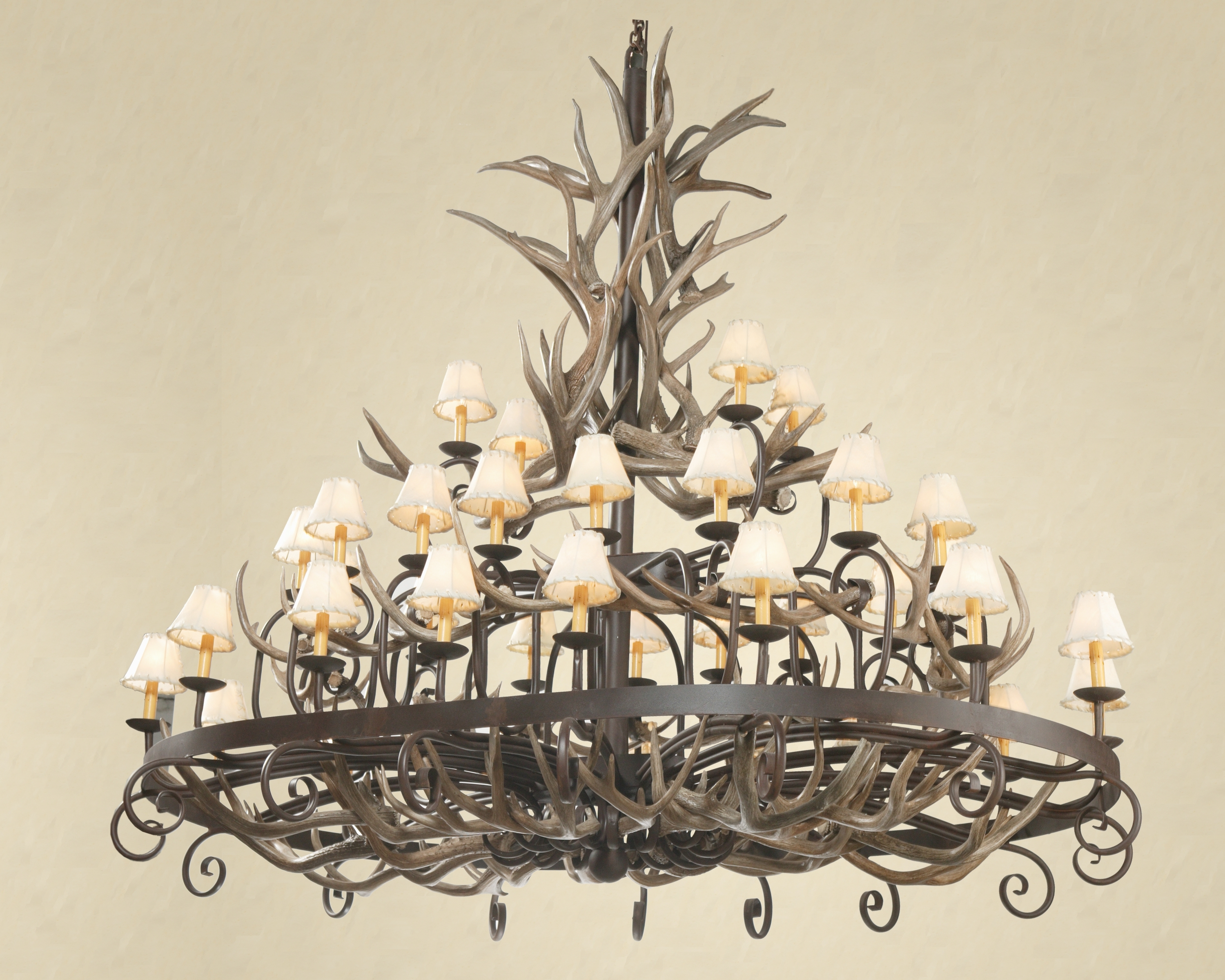 Most Up To Date How To Clean An Antler Chandelier In Modern Antler Chandelier (View 13 of 20)