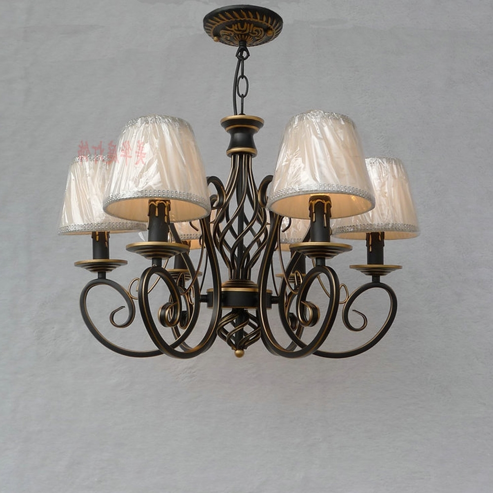 Most Up To Date Loft Style Suspension Retro Chandeliers For The Bedroom E14 Ac 220V In Retro Chandeliers (View 10 of 20)