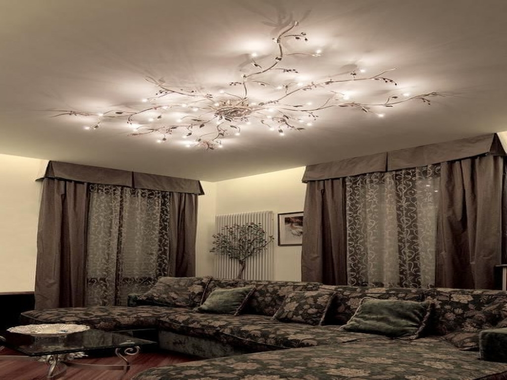 Low Ceiling Chandelier