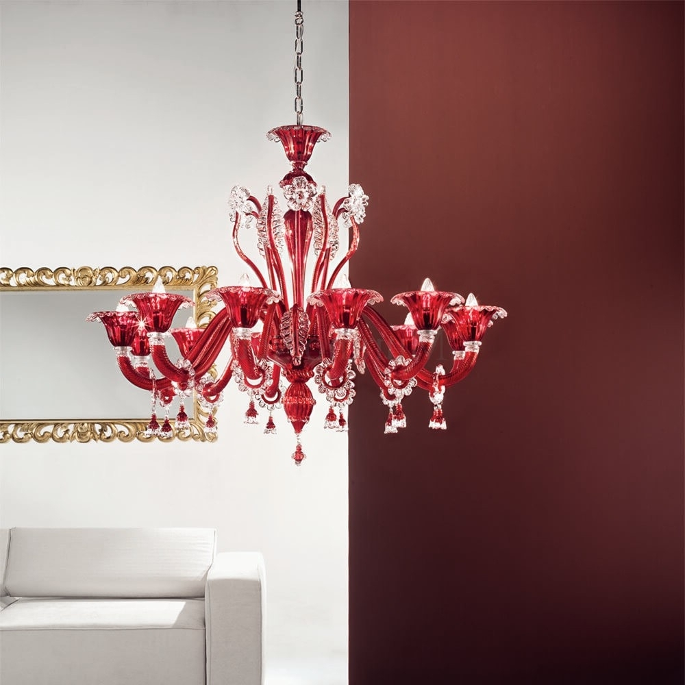 Muranonet Online Store Pertaining To Chandelier Lights (View 17 of 20)