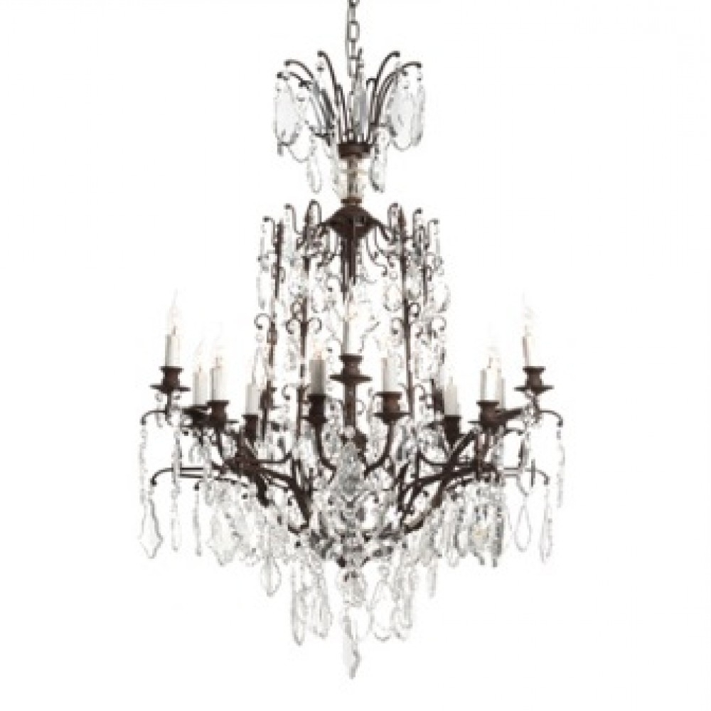 Newest Baroque Chandelier (View 16 of 20)