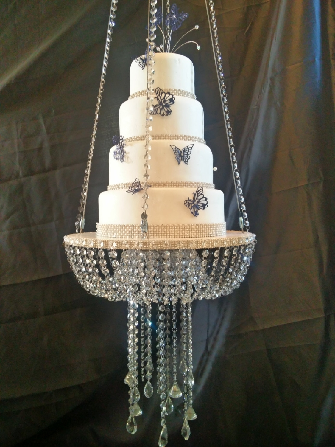 Newest Chandelier: Astonishing Faux Crystal Chandeliers Party Chandelier Within Faux Crystal Chandeliers (View 12 of 20)
