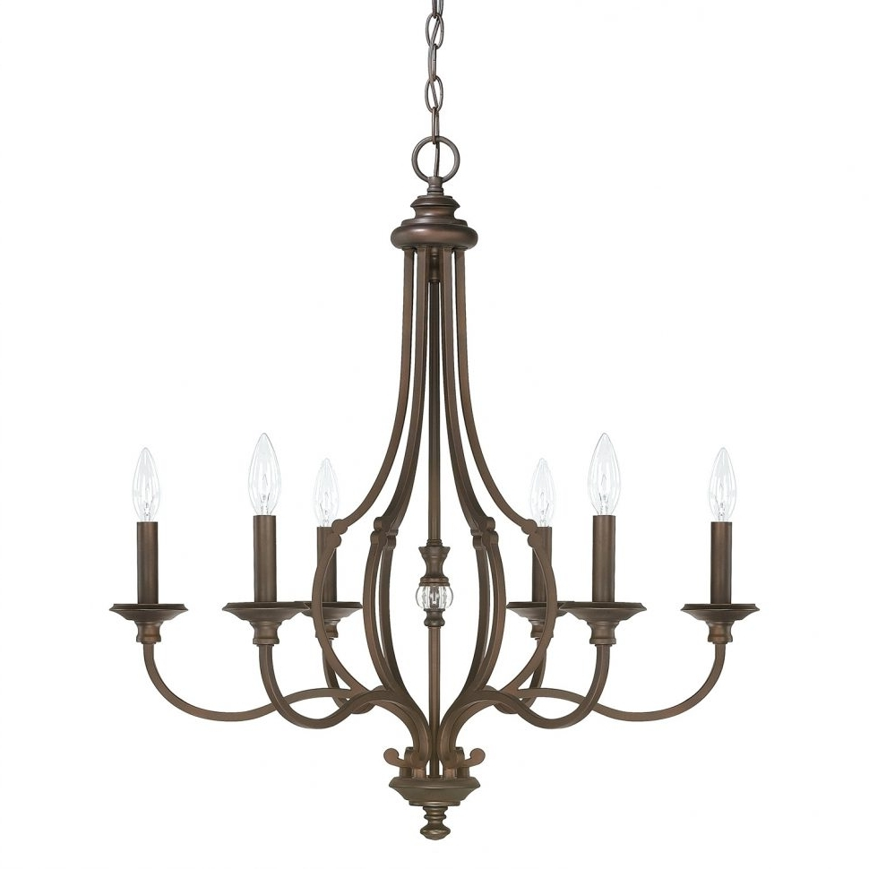 Newest Chandeliers Design : Awesome Wrought Iron Candle Chandelier Non Intended For Hanging Candelabra Chandeliers (Gallery 3 of 20)
