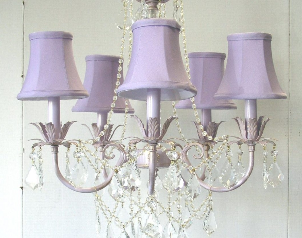 Newest Chandeliers For Girl Nursery In Chandelier : Beautiful Chandeliers Pink Chandelier For Little Girl (Gallery 20 of 20)