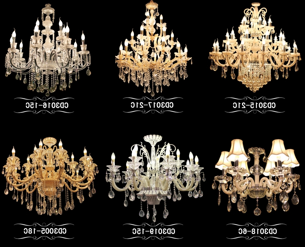 Newest Chinese Chandelier For Colorful Crystal Chandelier Chinese Crystal Parts For Chandelier (Gallery 1 of 20)