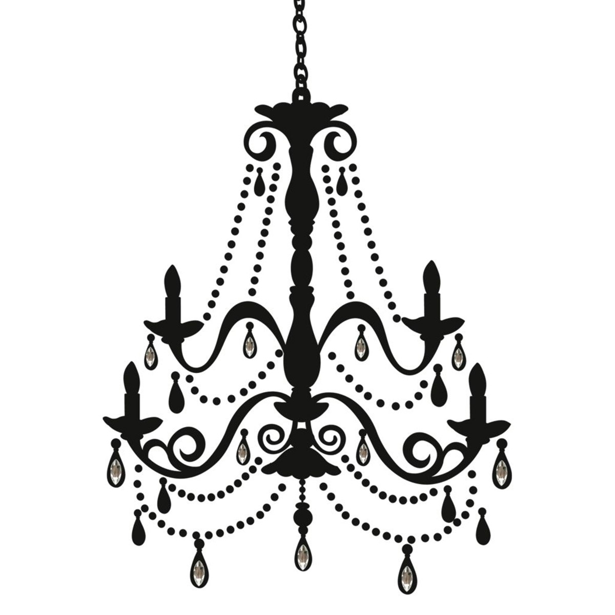 Newest Clip On Chandeliers Pertaining To Chandelier Clipart Png – Musethecollective (View 12 of 20)