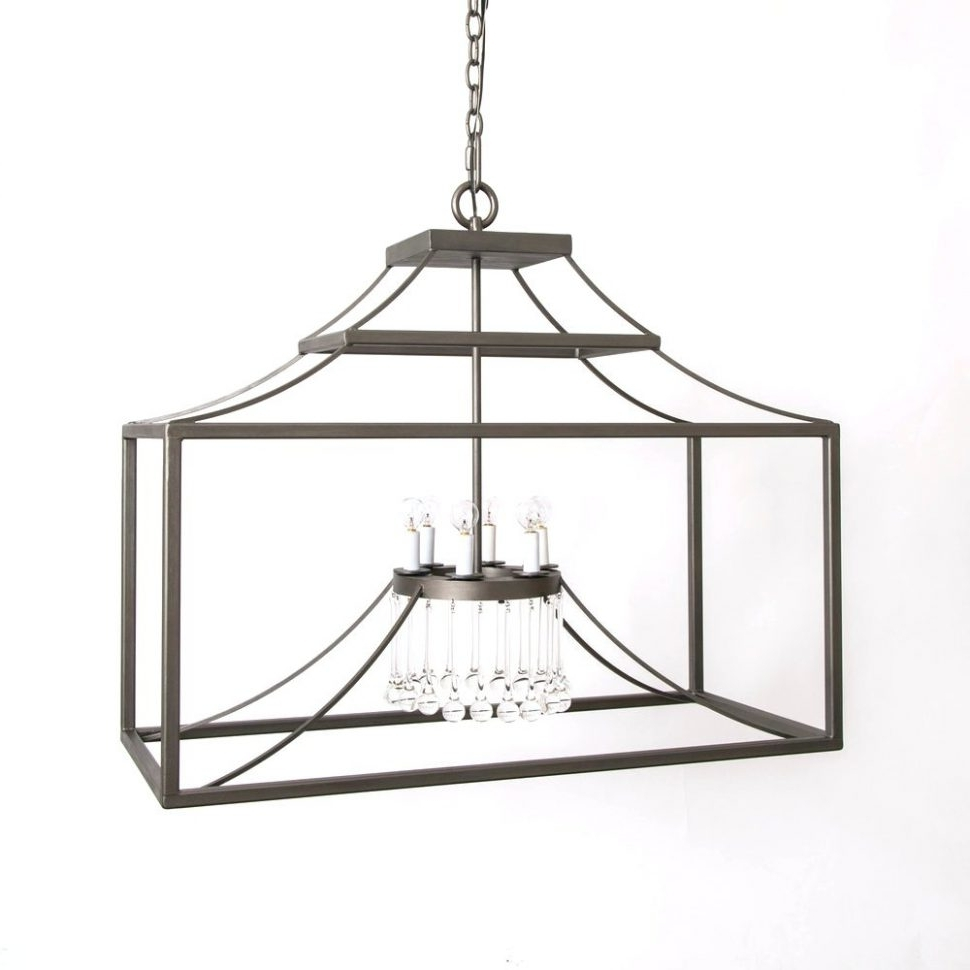 Newest Indoor Lantern Chandelier With Regard To Chandeliers Design : Amazing Black Lantern Chandelier Iron Lanie (View 16 of 20)