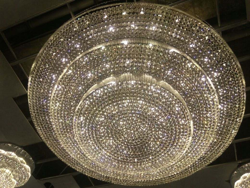 Newest Large Big Size Crystal Chandeliers Regarding Big Chandeliers (Gallery 17 of 20)