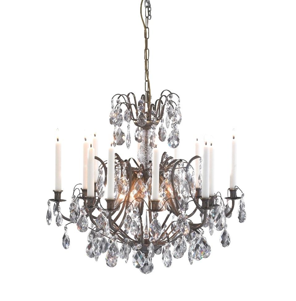 Newest Light : Lighting Candelabra Chandeliers Non Electric Chandelier With Regard To Hanging Candelabra Chandeliers (Gallery 5 of 20)