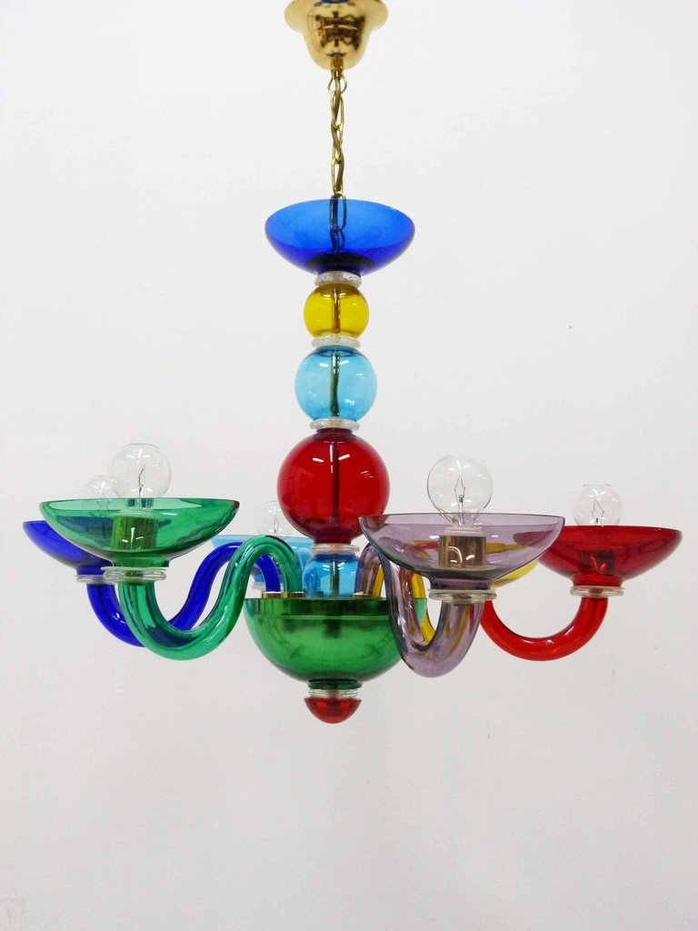 Newest Multi Colored Gypsy Chandeliers With Chandelier (View 11 of 20)