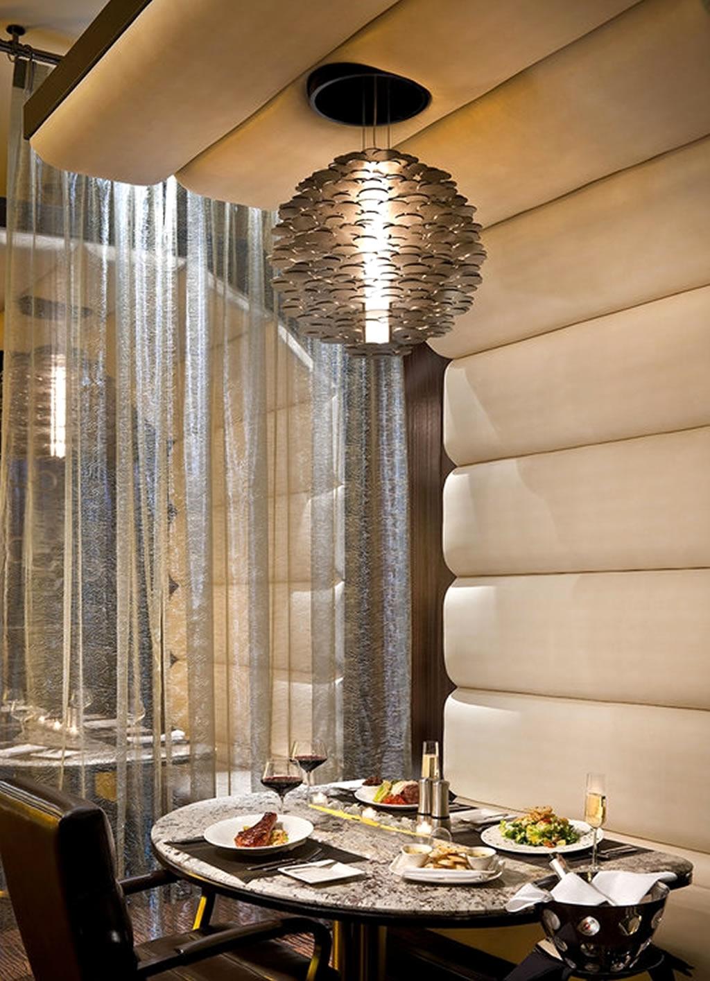 Newest Restaurant Chandelier Within Restaurant Chandelier Lighting Design Of Atlantis Steakhouse, Reno (View 5 of 20)