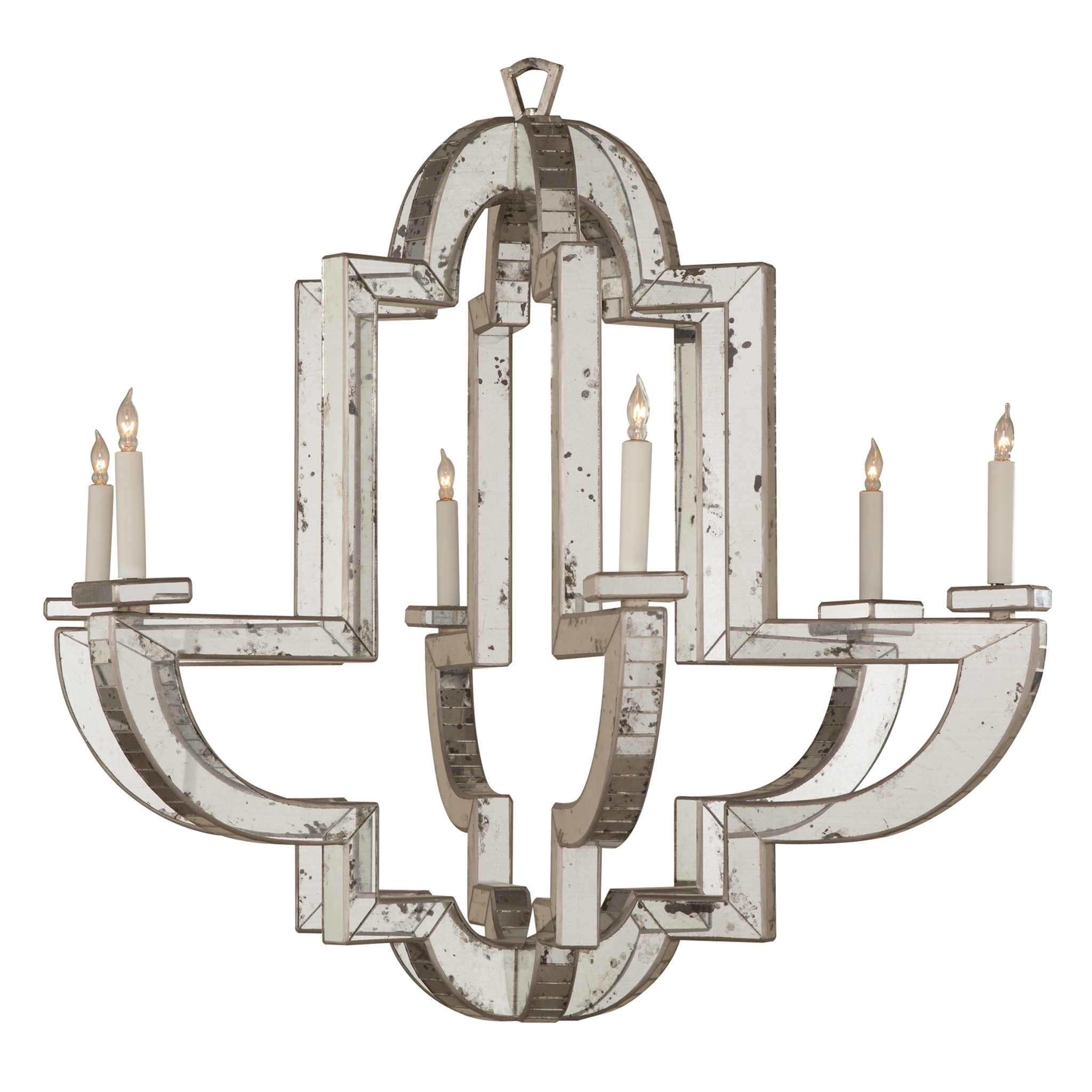 Niermann Weeks In Widely Used Antique Mirror Chandelier (View 13 of 20)