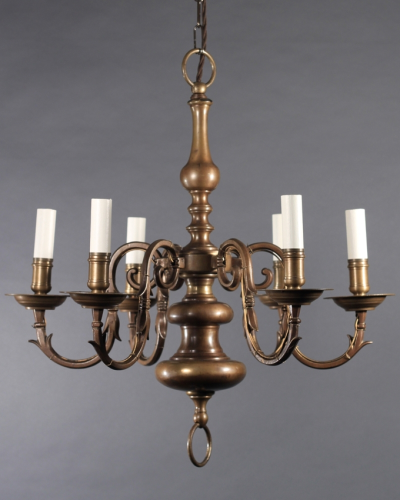 Old Brass Chandelier With Regard To Widely Used Homeofficedecoration (View 16 of 20)