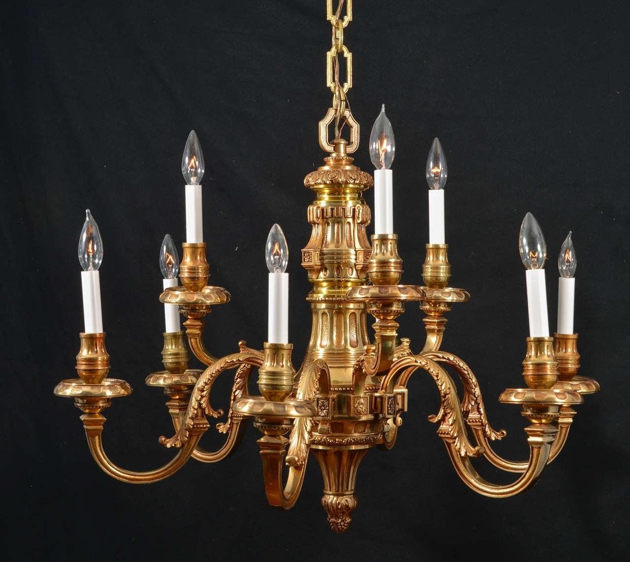 Old Brass Chandeliers Inside Fashionable Chandelier (View 19 of 20)