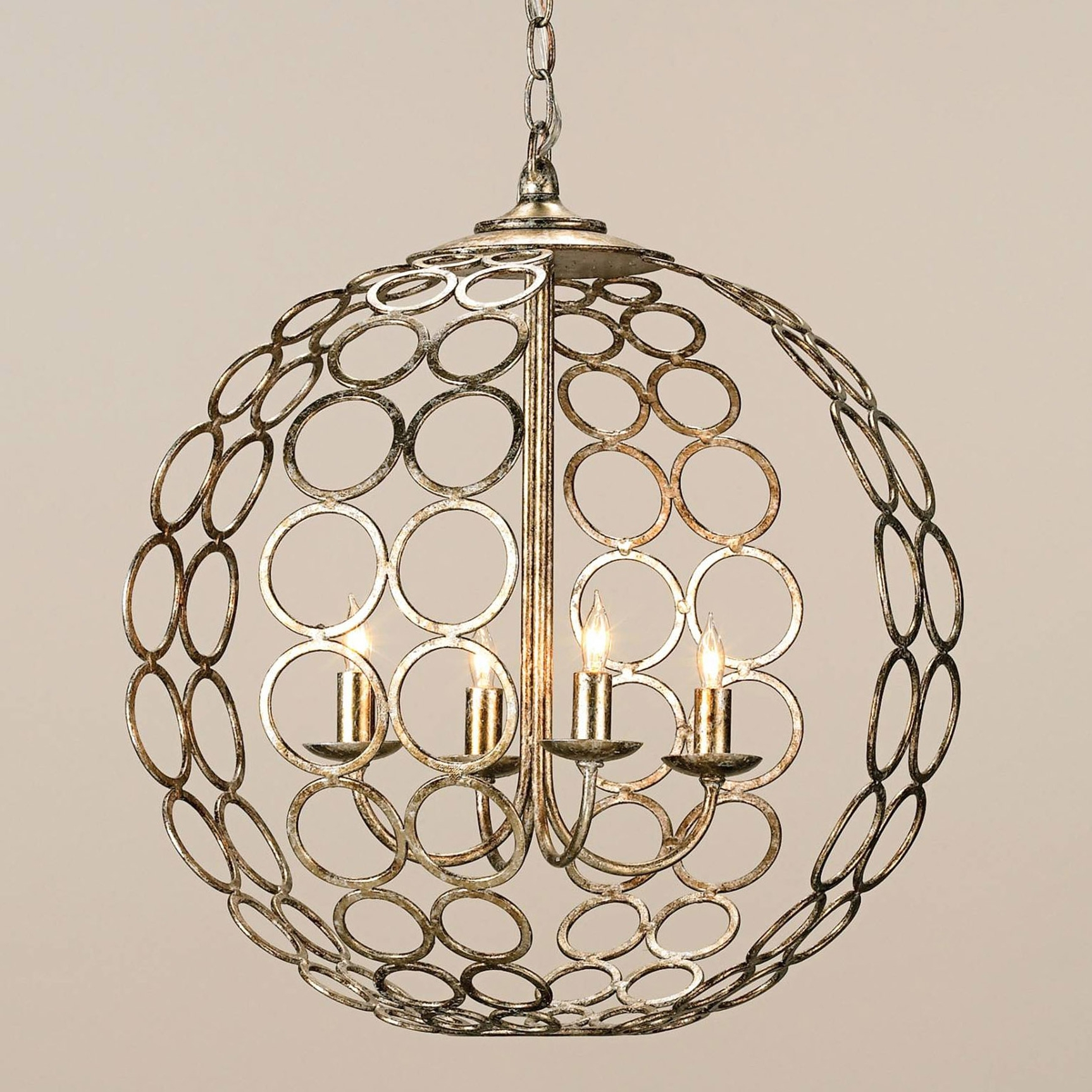 Orb Chandeliers Pertaining To Latest And Company 9961 Tartufo Orb Chandelier (View 8 of 20)