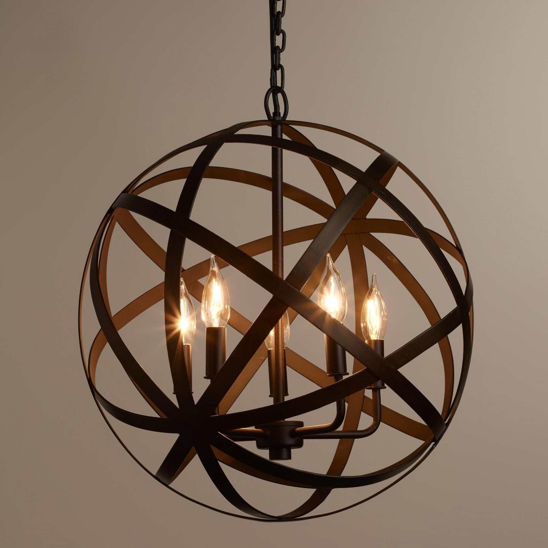 Orb Chandeliers Pertaining To Widely Used Chandeliers : Restoration Hardware Orb Chandelier Fresh Unique Orb (View 4 of 20)