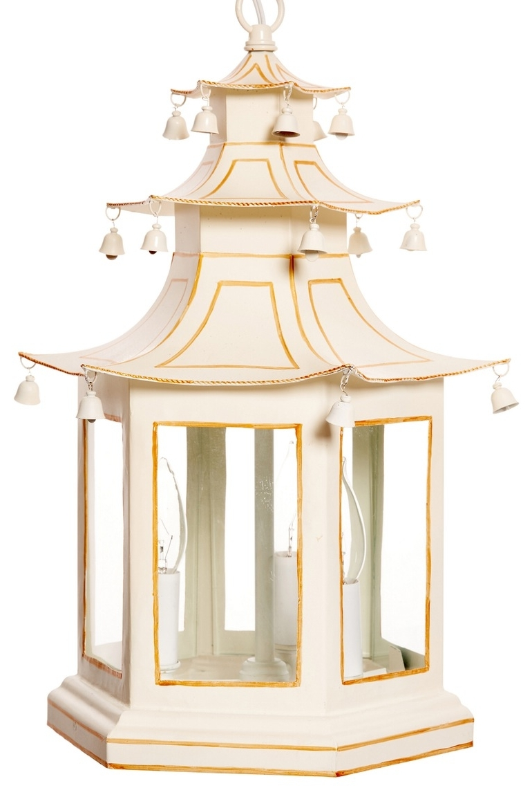 Pagoda Lantern – Chinoiserie Chandeliers – Dering Hall (View 12 of 20)