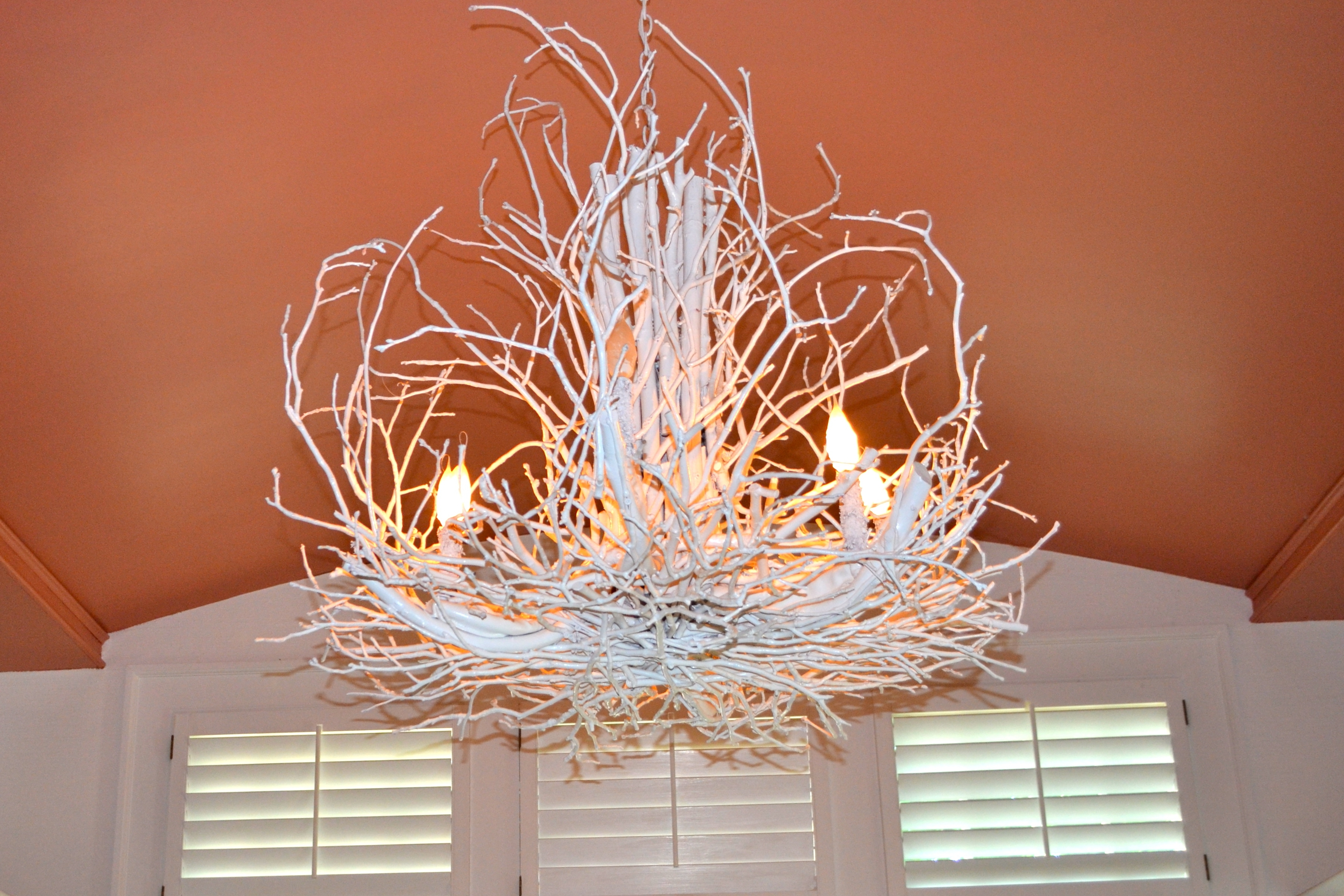 Photos: Organic Twig Chandelier In, Branch And Twig Chandelier In Well Liked Branch Chandeliers (View 18 of 20)