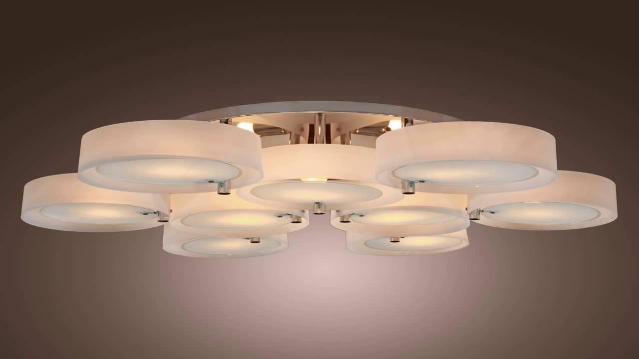 Popular Acrylic Chandelier Lighting Within Lightinthebox Acrylic Chandelier With 3 Lights Chrome Finish – Youtube (View 16 of 20)